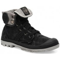 Chaussure Palladium US Baggy noir/gris