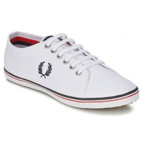 Basket Fred Perry b3176 kingston blanche