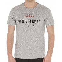 Tee-shirt Ben Sherman Original Gris