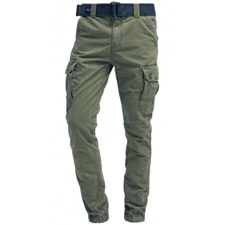 Pantalon Cargo Schott Kaki