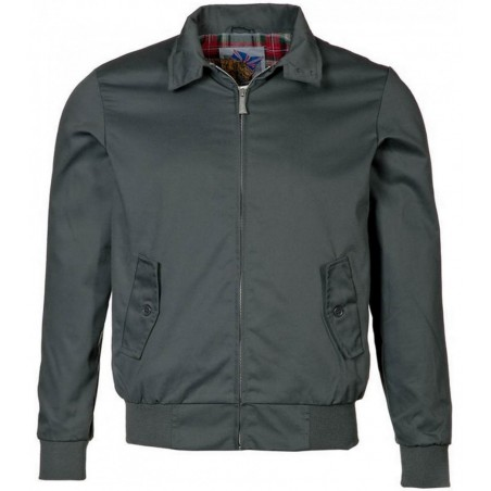 Blouson Harrington Gris