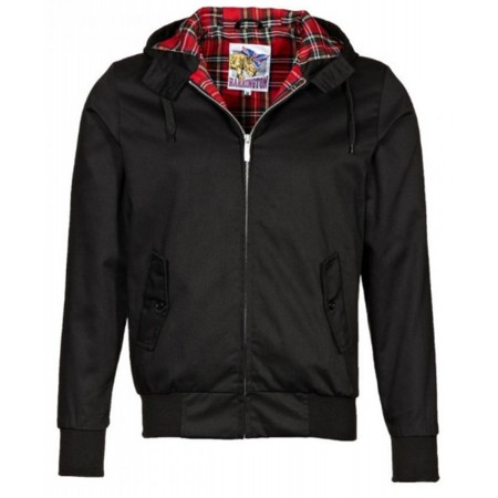 Harrington Capuche Noir