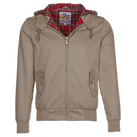 Blouson Harrington Capuche New Beige Original