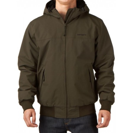 Blouson Carhartt Hooded sail Jacket CYPRESS/BLACK