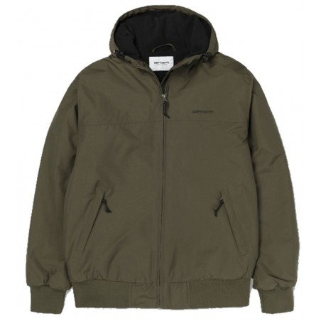 Blouson Carhartt Wip Hooded sail Jacket CYPRESS/BLACK