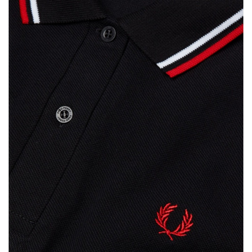 POLO FRED PERRY FEMME MADE IN ENGLAND G12 /186