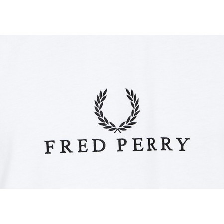 Tee Shirt Fred Perry Authentic White