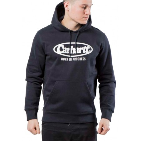 SWEAT CAPUCHE CARHARTT Oval Navy