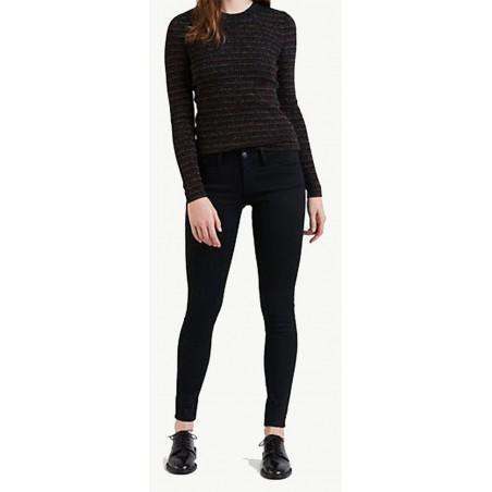 Jeans Levi's Femme 710 Black 0039