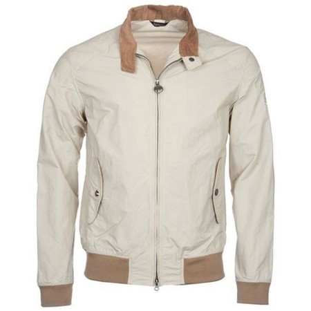 BLOUSON BARBOUR Harrington Fog Beige