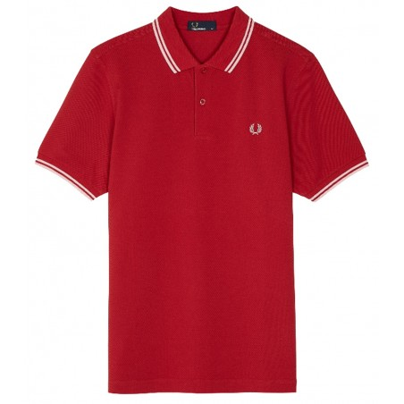 Polo Fred Perry M3600 Fit Rouge