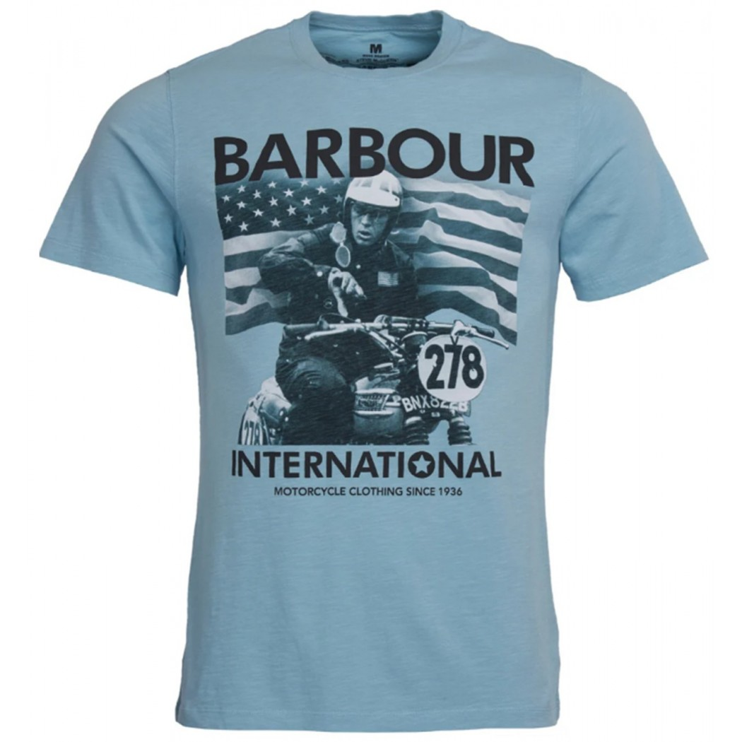 Tee Shirt BARBOUR International Steve McQueen 278