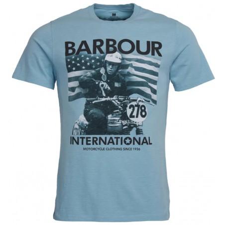 Tee Shirt BARBOUR International Steve McQueen 278