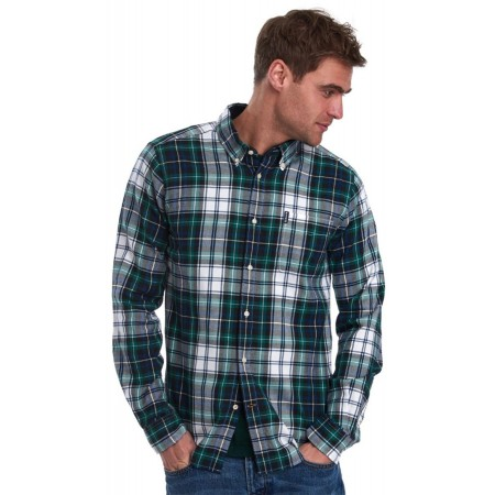 Chemise Barbour Highland Green