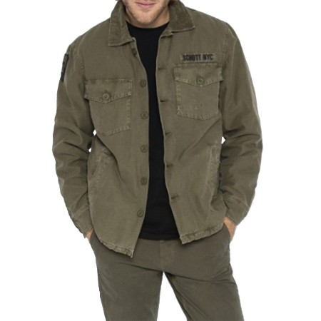 Veste Schott Timber Kaki