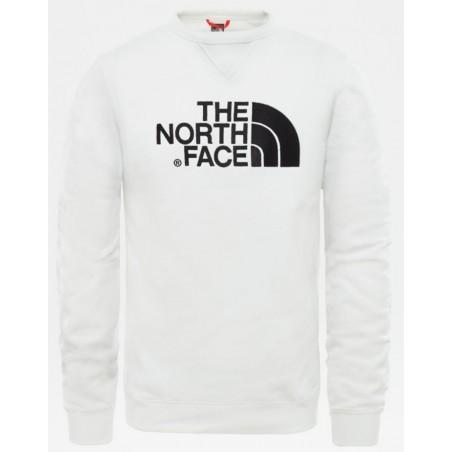 SWEAT DREW PEAK Blanc The North Face