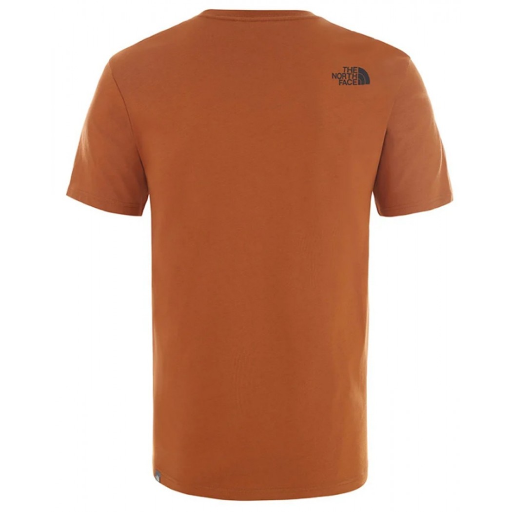 T-SHIRT THE NORTH FACE WOODCUT DOME CARAMEL