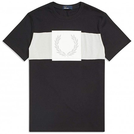TEE SHIRT FRED PERRY PRINTED LAUREL WREATH