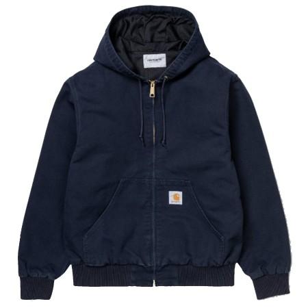 Blouson carhartt  Active Jacket été bleu