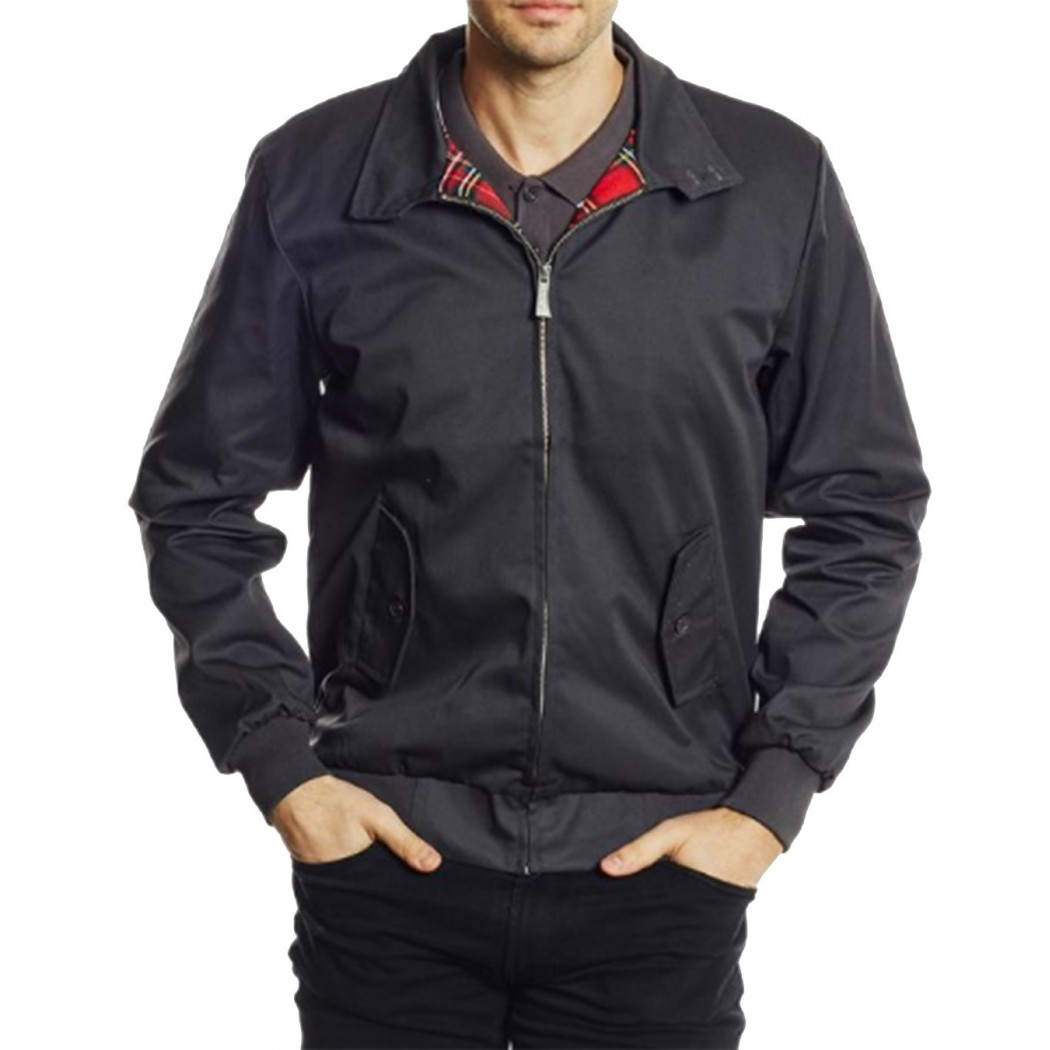 Blouson Harrington Gris Original