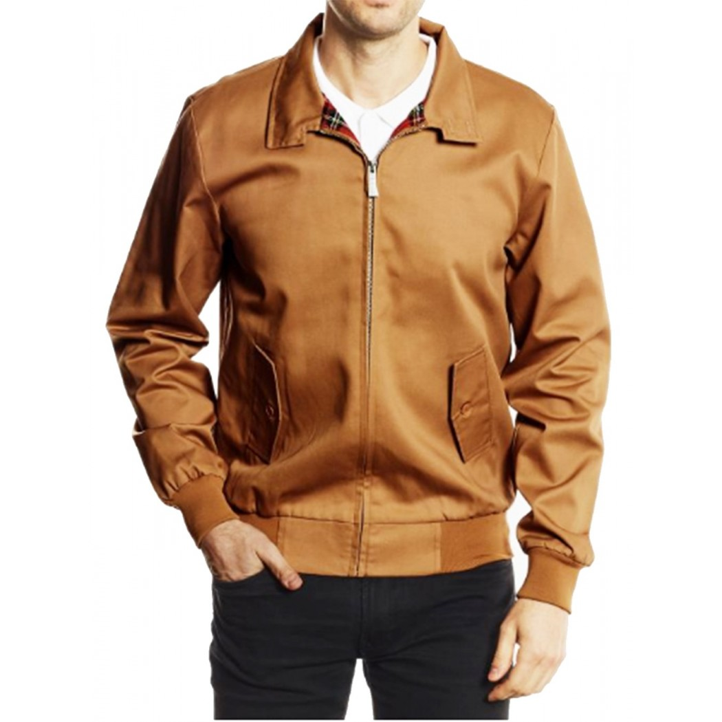 Blouson Harrington Caramel