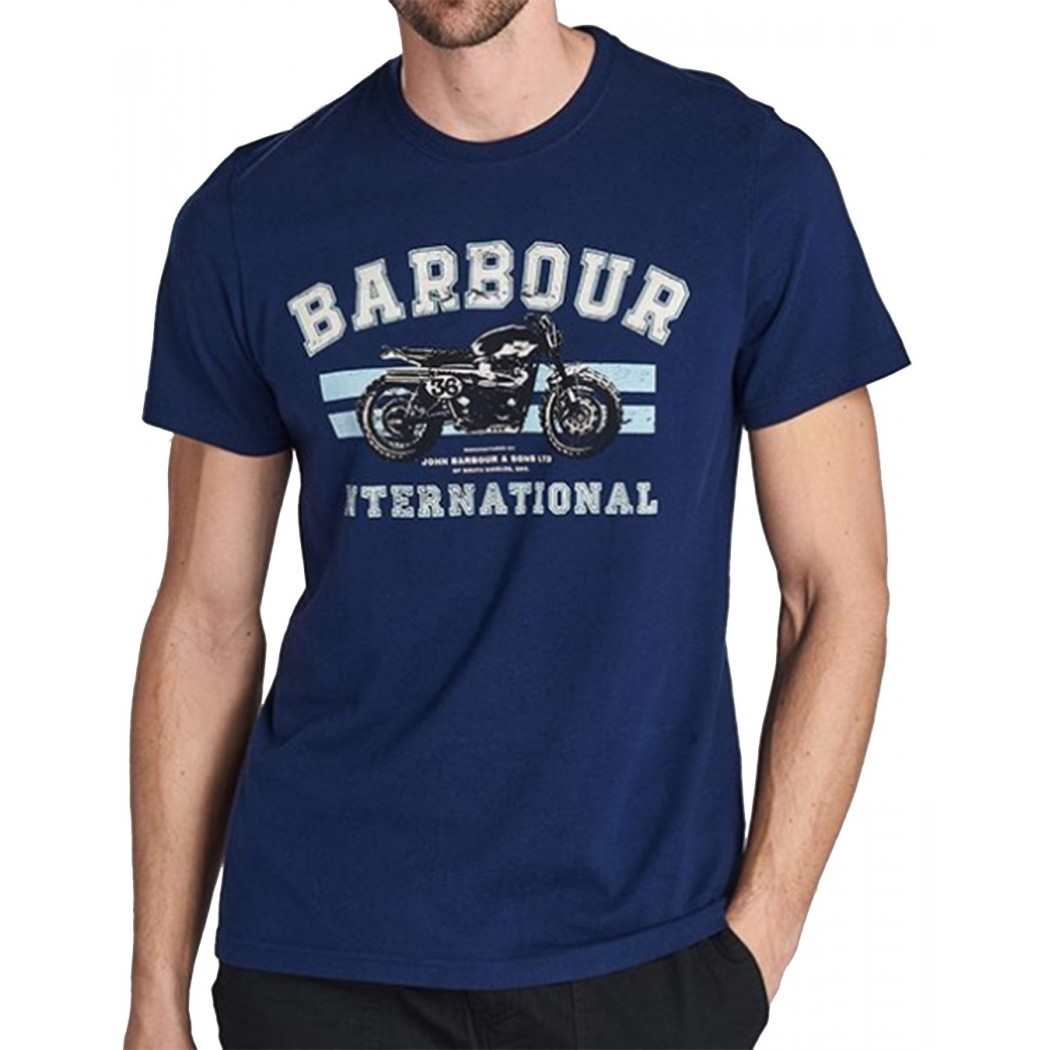 Tee Shirt BARBOUR B.INTL BRACKET T-SHIRT