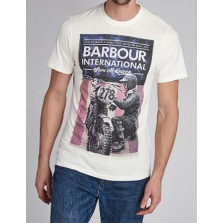 Tee Shirt BARBOUR B.INTL STEVE MCQUEEN