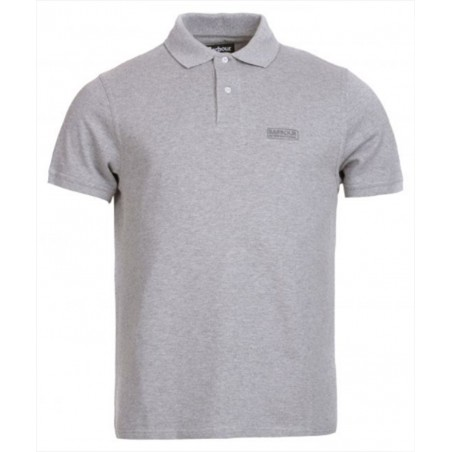 Polo Barbour International Piqué Gris