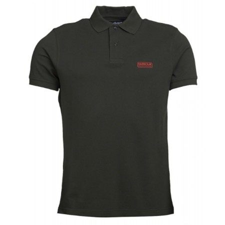 Polo Barbour International Piqué Green