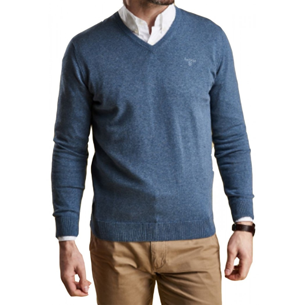 Pull Barbour col V chambray