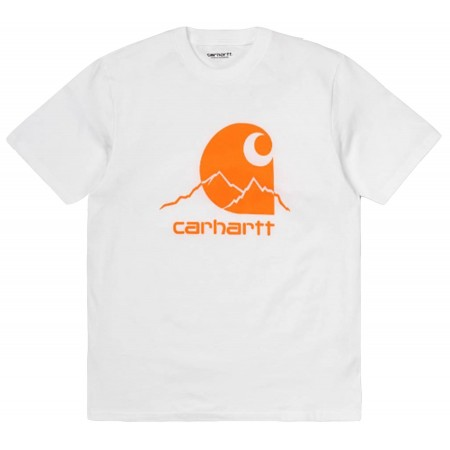 Tee Shirt Outdoor Carhartt Blanc