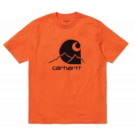 Tee Shirt Outdoor Carhartt Orange