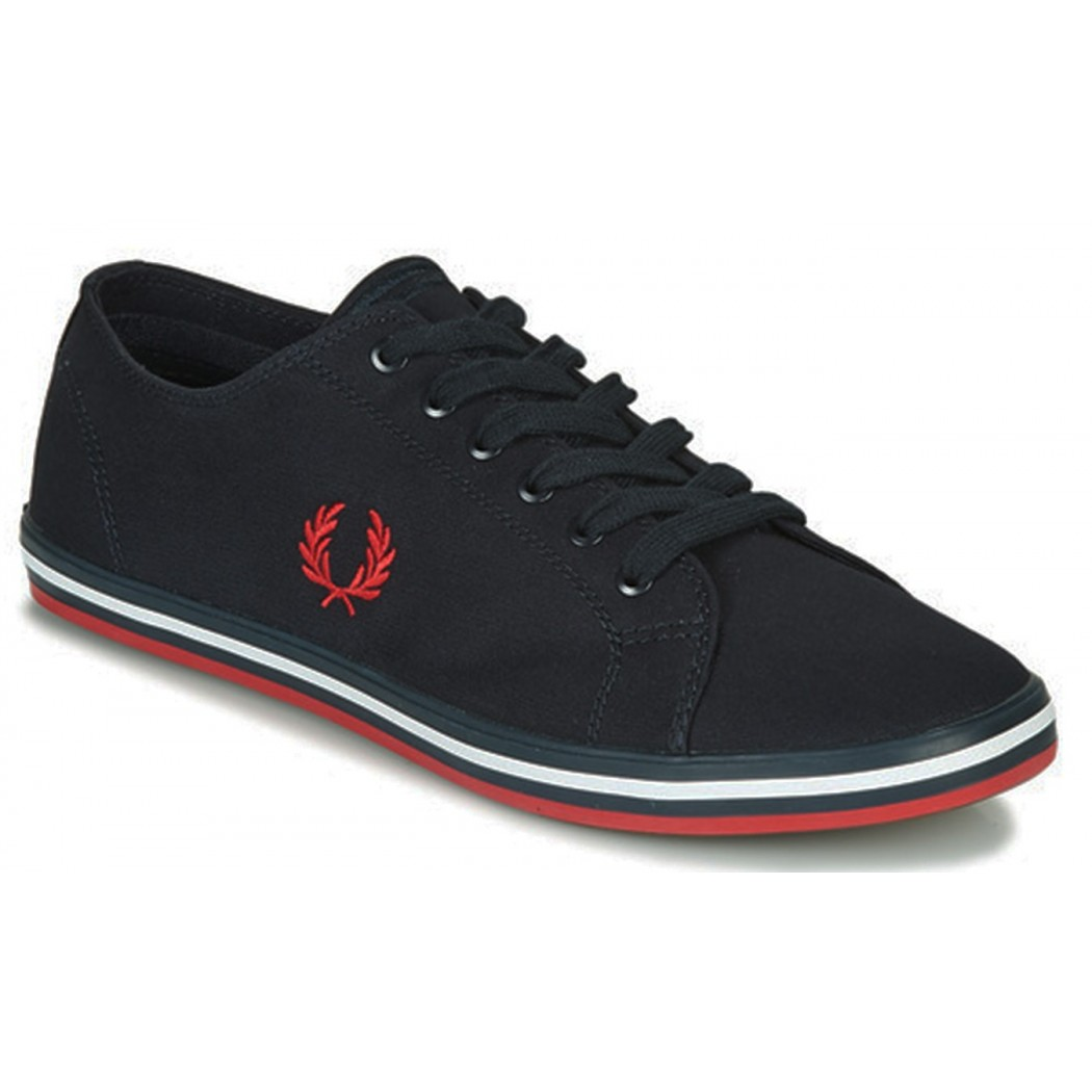 BASKETS MODE FRED PERRY B7259 Marine