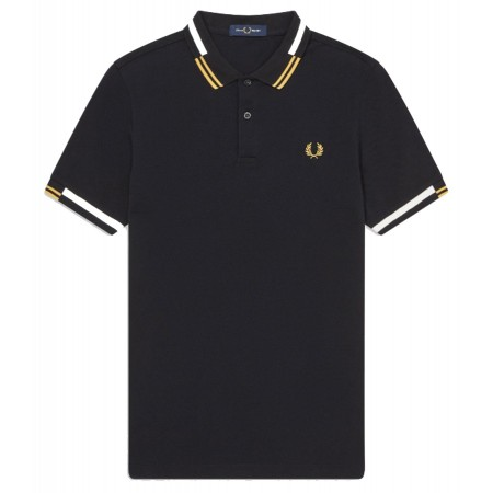 Polo FRED PERRY à liserés abstraits