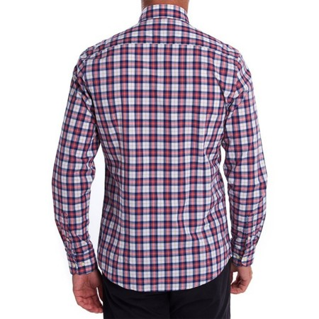 Chemise Barbour red