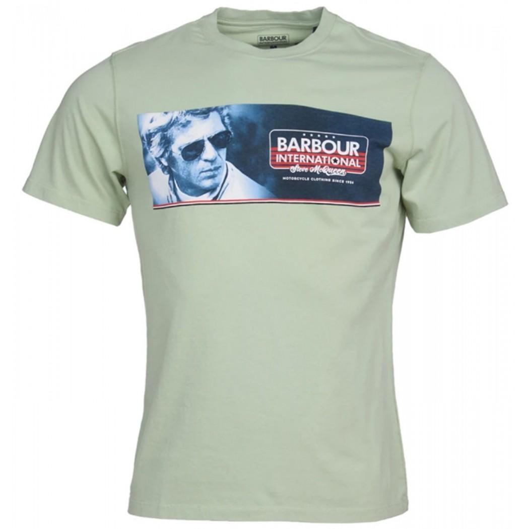 Tee Shirt Barbour International Pinstripe