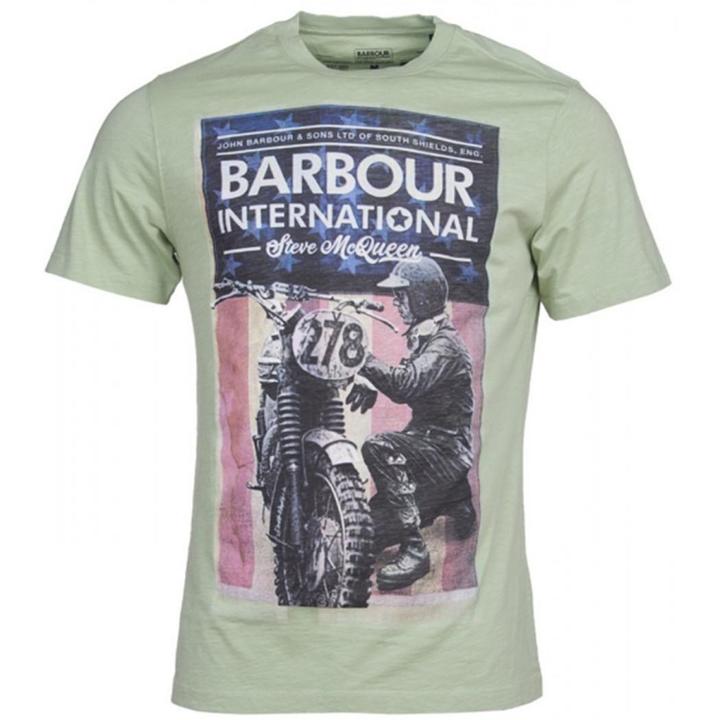 Tee Shirt Barbour International Steve McQueen