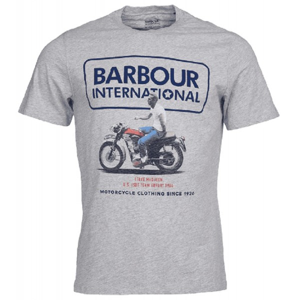 Tee Shirt Barbour International Steve McQueen