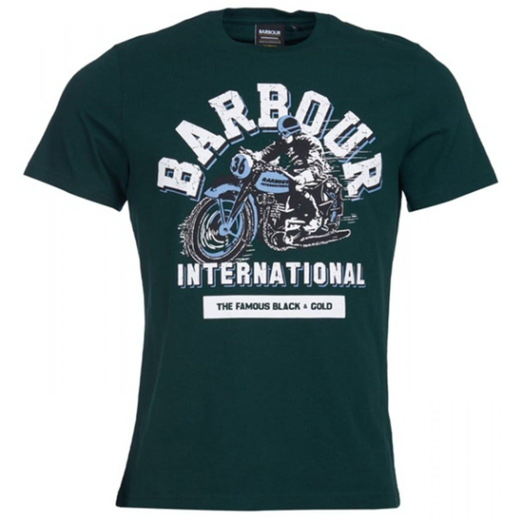 Tee Shirt Barbour Internationnal Rider