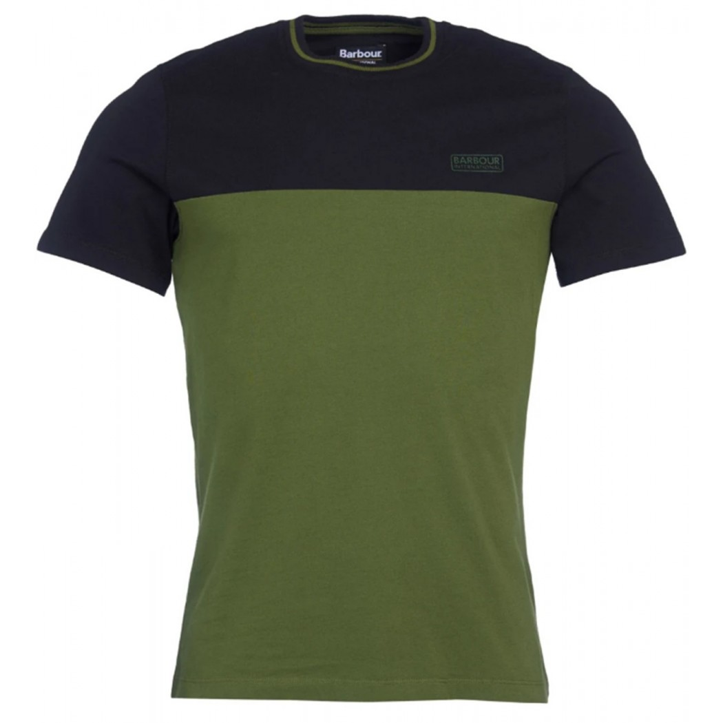 Tee Shirt Barbour Internationnal Blocker Strong