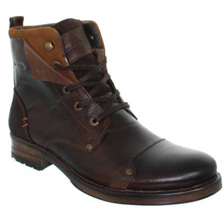 Boots Redskins Yedes Cuir Chataigne