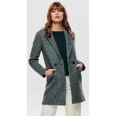 Manteau en Laine Only
