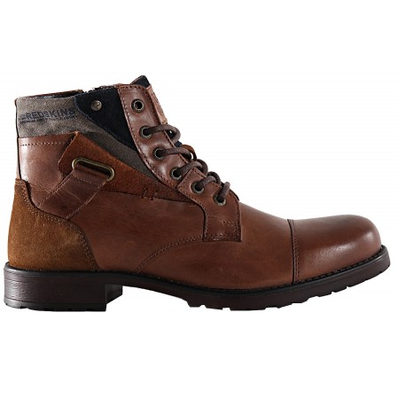 Boots EN CUIR MARRON REDSKINS...