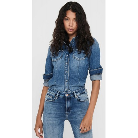 Chemise ample en Jean Only