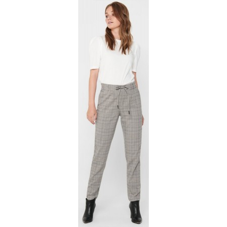 Pantalon à carreaux only