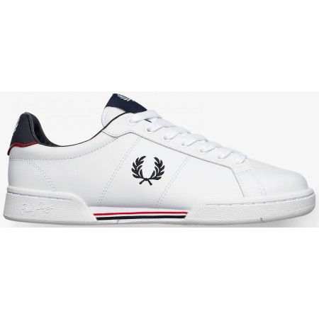 Basket FRED PERRY cuir blanche