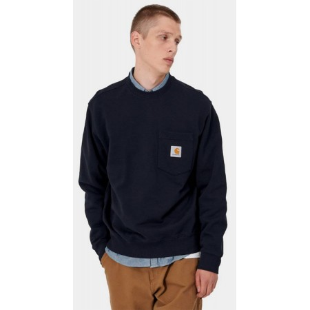 Sweat CARHARTT Pocket Marine