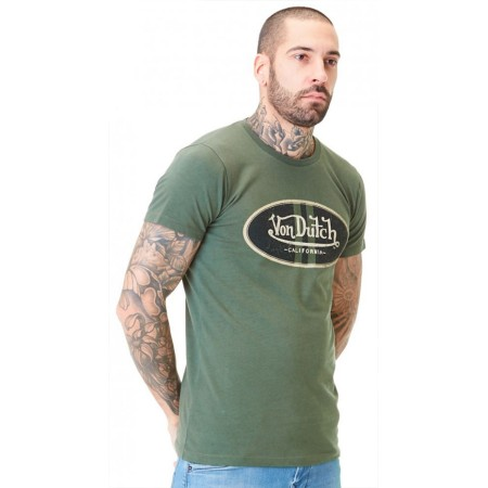 T-Shirt Slim Fit Log VON DUTCH