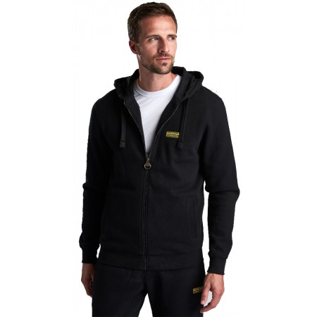 Sweat capuche zippé BARBOUR Black