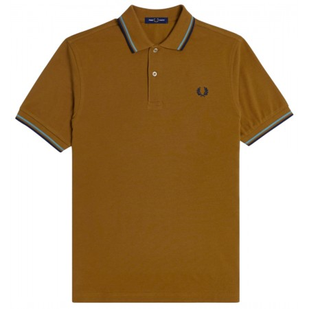 Polo Fred Perry M3600 caramel